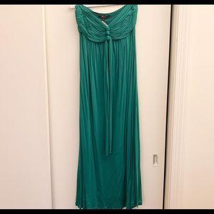 Goddess BCBG Maxi Dress Green S